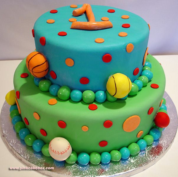 19 Best Sports Cakes Images On Pinterest