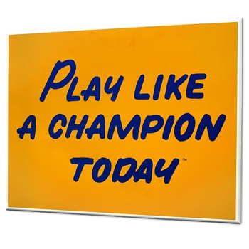 10 Best Play Like A Champion Today Images On Pinterest