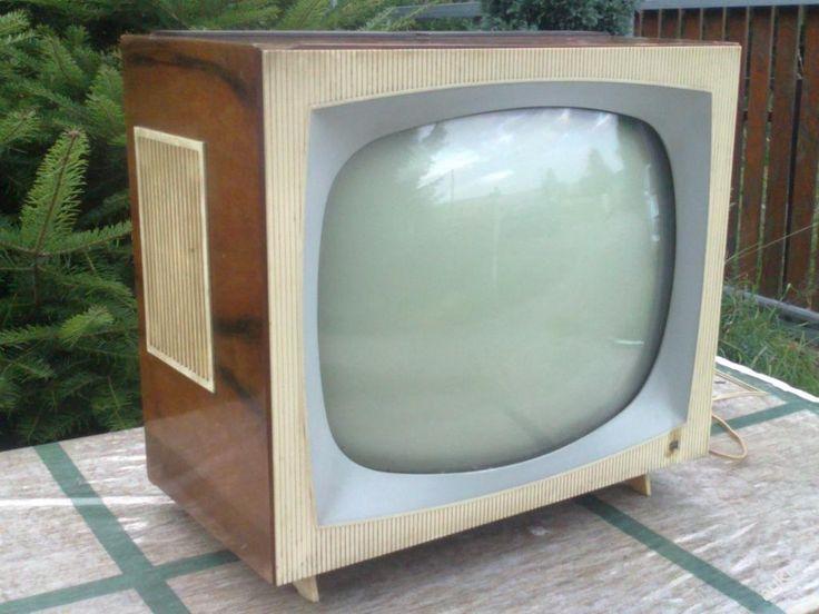 Stará televize 4115U Luneta, Tesla Orava r. 1963