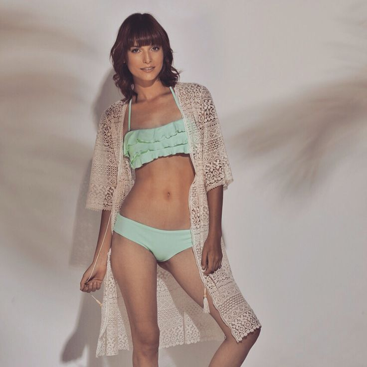 Cover Up #bikini #menta #summer