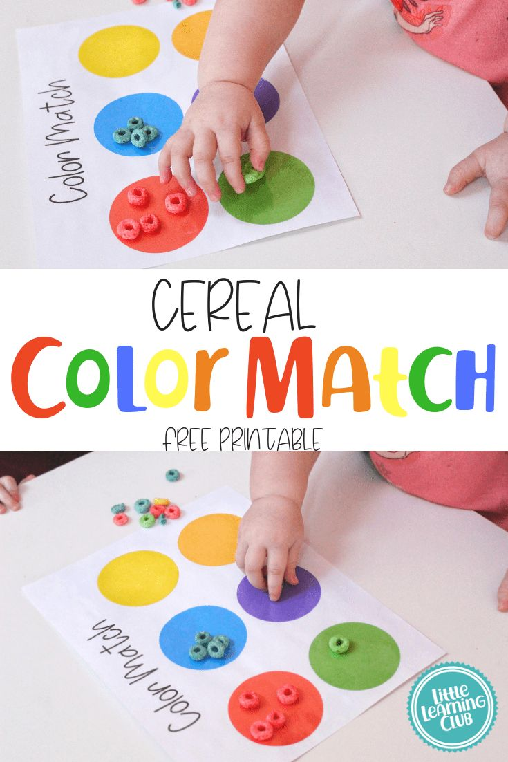 Fun Activities to Help Your Toddler Learn Colors! …