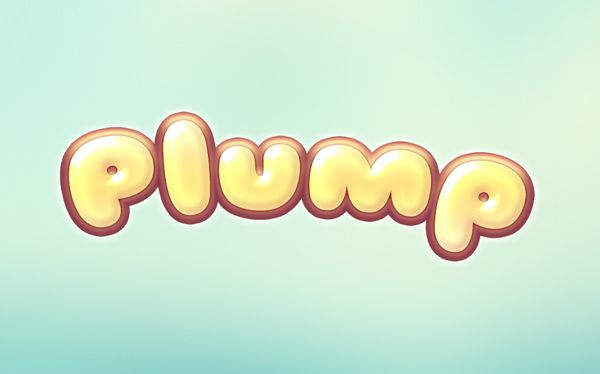 GMF: How to create Plump Text Effect