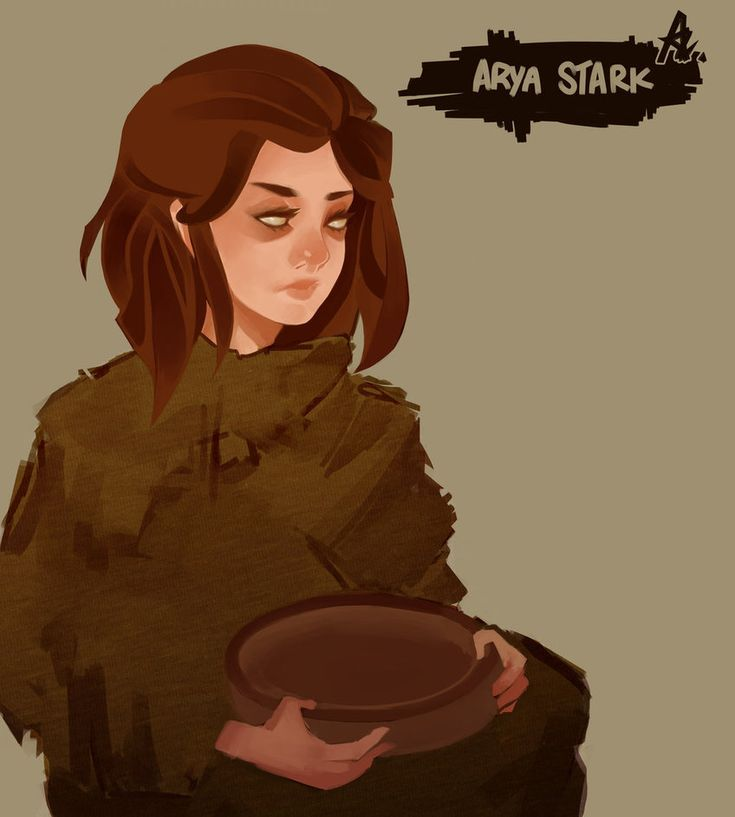 Arya, The Blind Stark by zzzKEO on DeviantArt