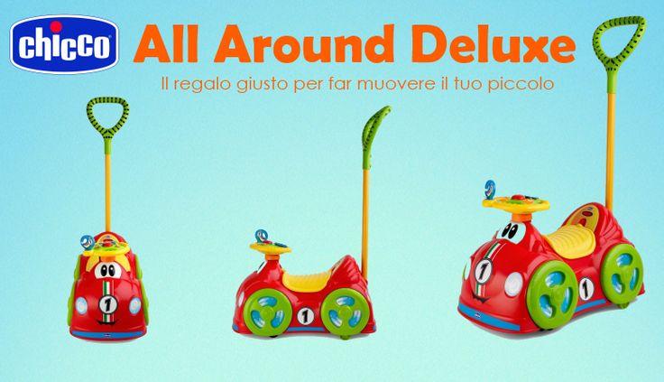 Il nuovo #Chicco #AllAroundDeluxe è il gioco perfetto per muoversi e per scoprire il mondo!