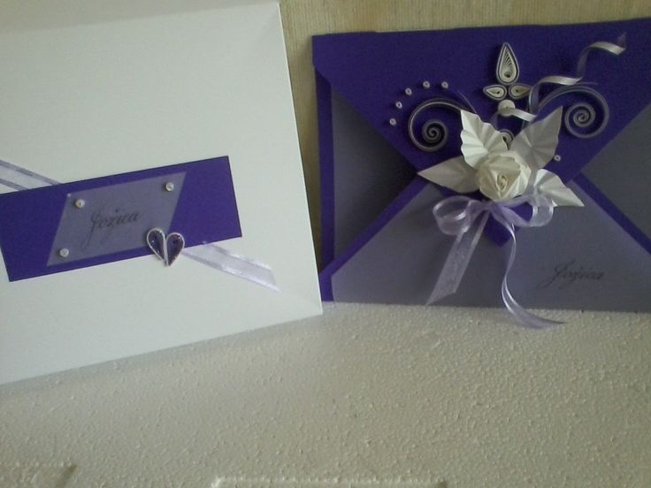 birthday quilling card with  handmade box