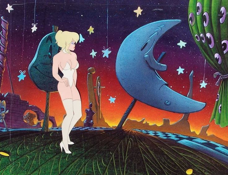 I MIEI SOGNI D'ANARCHIA - Calabria Anarchica: Bakshi - Cool world 1992 - Here is Holli  Artist: ...