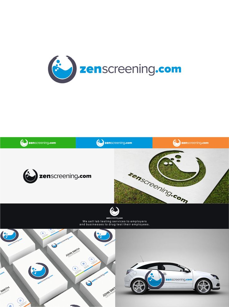 My logo designs for ZenScreening.com  #Logo #designs