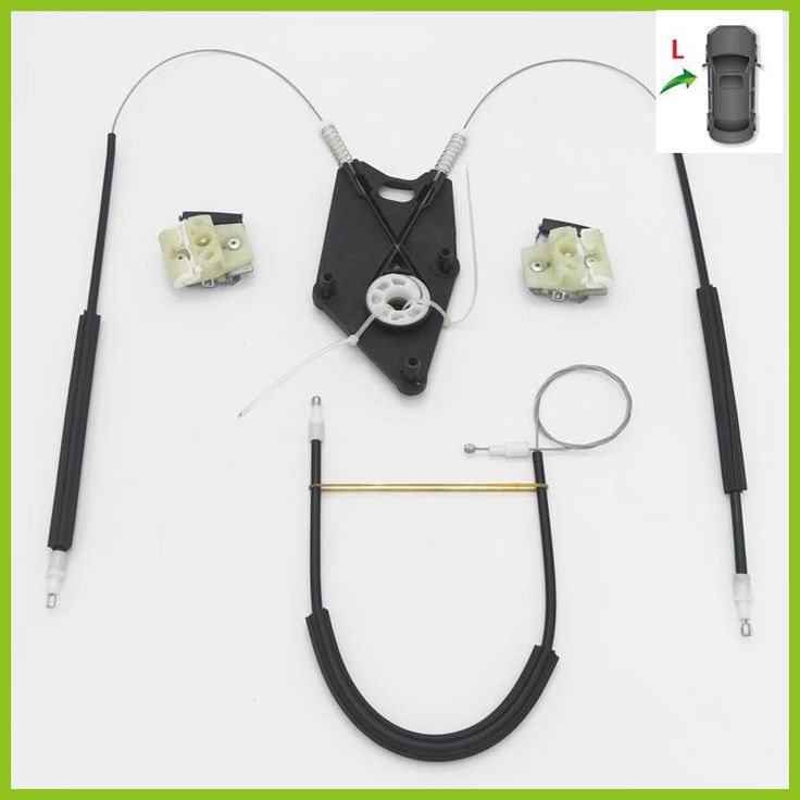 For VW Polo Vento 2010 2011 2012 2013 2014 2015 2016 2017 Car-Styling New Electric Window Regulator Repair Kit Front Left Side