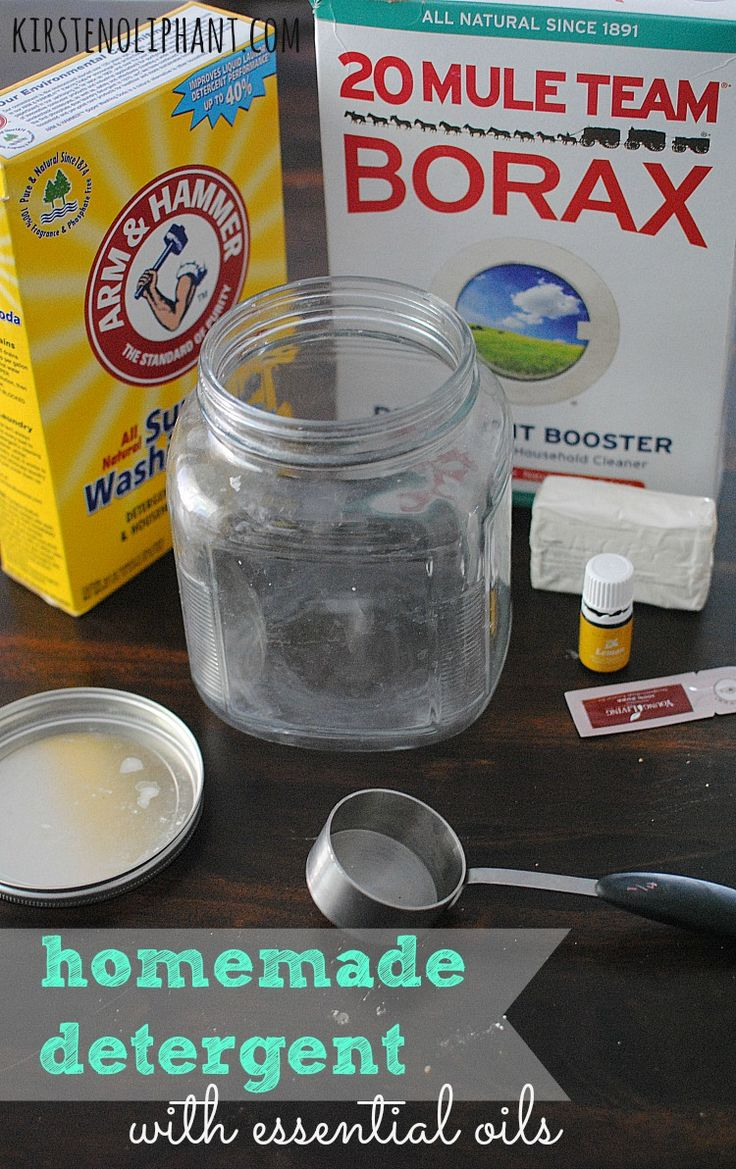 An easy recipe for homemade detergent that will save you money--and also not steal your time!