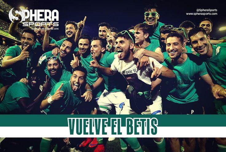 Ascenso #RealBetis a primera división. Temporada 2014/2015
