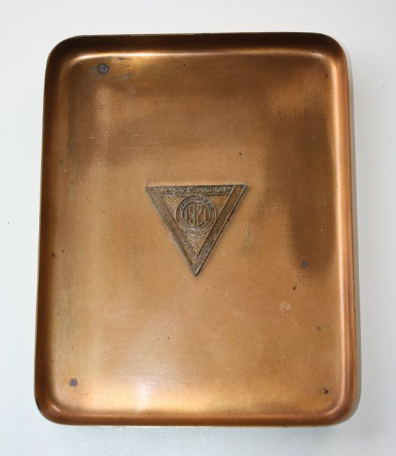 Pennsylvania (Railroad) System Veteran Employees' Association, General Offices, Philadelphia Commemorative Tray