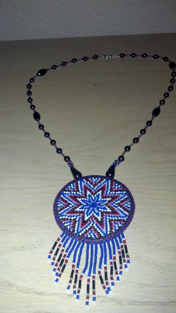 Native American Beaded Medallions Native American