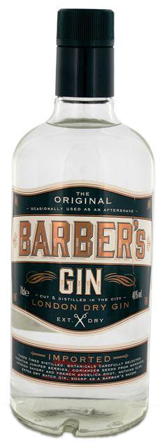 Barbers London dry Gin online kopen in Nederland en Belgie goede prijs