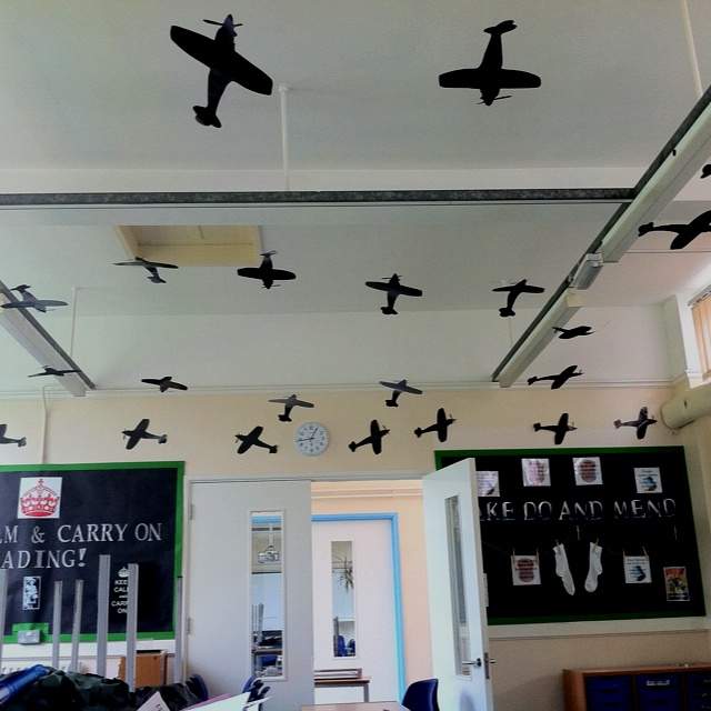 Ww2 blitz experience in the classroom