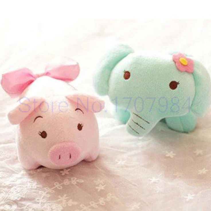wedding doll lovely plush toys green Elephant pink pig bamboo charcoal package at home decorate animals doll //Price: $8.95 & FREE Shipping //     #hashtag2