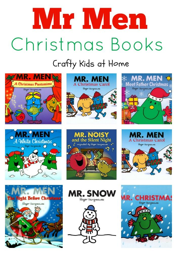 Mr Men Christmas Books are the perfect Christmas stocking filler.