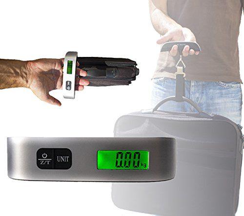 Báscula para maletas hasta 50 kg Alca #geek #tecnologia #oferta #regalo #novedades