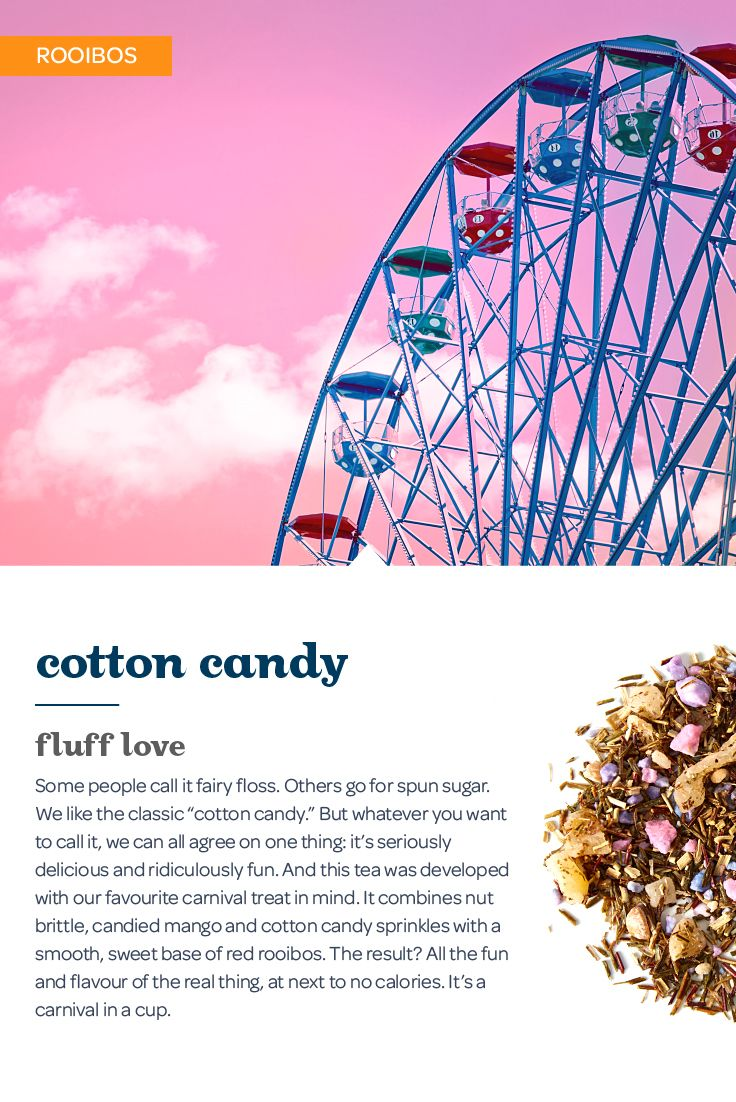 This sweet treat is deliciously nostalgic and ridiculously fun. Fairy floss, spun sugar, cotton candy…whatever you like to call the stuff, we can all agree on one thing: it's seriously delicious and ridiculously fun.
