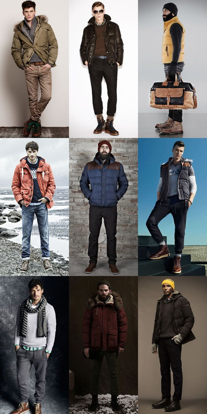 Mens Hiking Boots Lookbook Outfit Inspiration