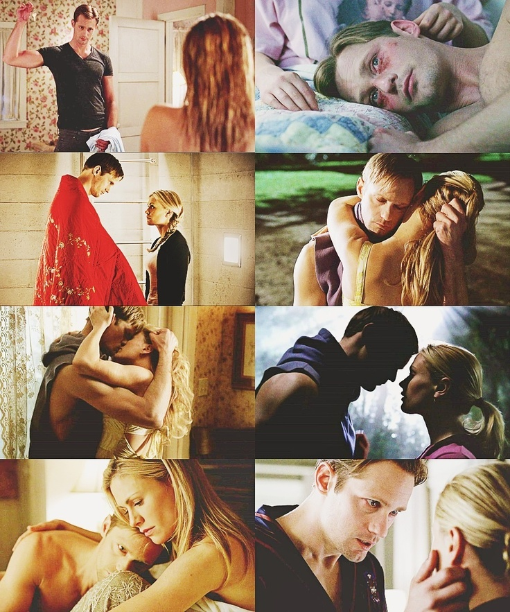 True Blood - Eric and Sookie - season 4 - the way they were... // Oh yeah, I so miss that !!!