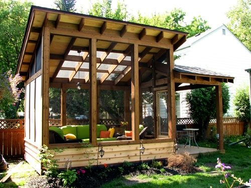 detached screen porch - Bing images                                                                                                                                                     More