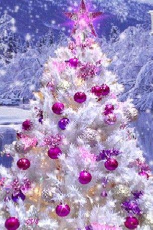 25 best ideas about christmas live wallpaper on pinterest - Purple christmas desktop wallpaper ...