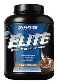 Elite Whey Chocolate by Dymatize Nutrition - Buy Elite Whey Chocolate 5 Powder at the Vitamin Shoppe