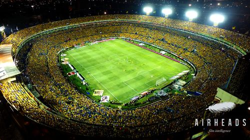 Estadio de Tigres de la Universidad Autónoma de Nuevo León /  AirHeads Drones Monterrey /  Monterrey, Nuevo León.