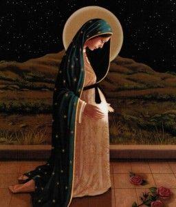 Imágenes de la Virgen María Embarazada de Jesús (11)
