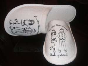 slippers wedding souvenir