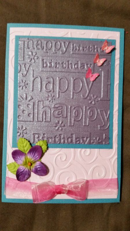 Birthdaycard Scrapbook Lornas Cards Pinterest