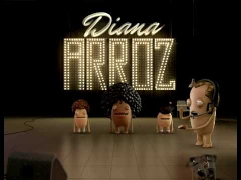 Always see a Diana Arroz commercial while waiting for the Subte in Buenos Aires