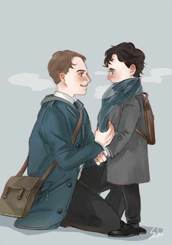 seki0930 - Mycroft & Sherlock