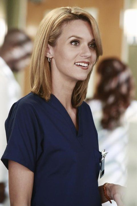 Wow she's even hotter in scrubs ...
