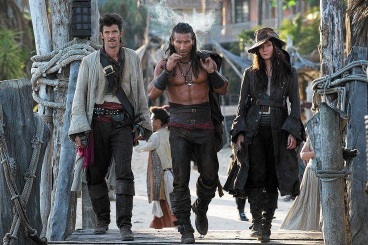 Black Sails dangerous trio