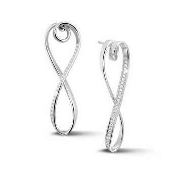 Design earrings from the Dancing Lady collection - Baunat