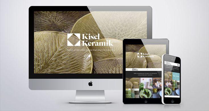 Kisel Keramik responsive web