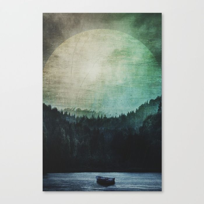 Great mystical wilderness Canvas Print by HappyMelvin | Society6