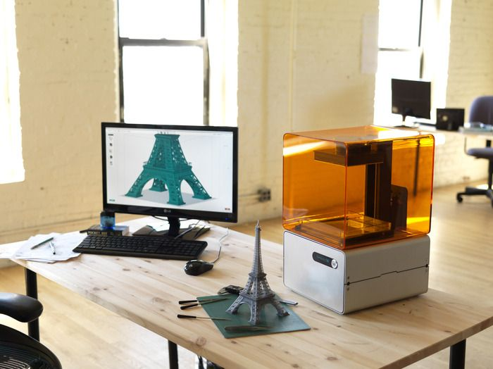 Form 1: An affordable, high-res 3D printer