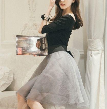 ドレス-ミニ・ミディアム ロマンチック★オフショルダーパーティーワンピースドレスdar27(10)