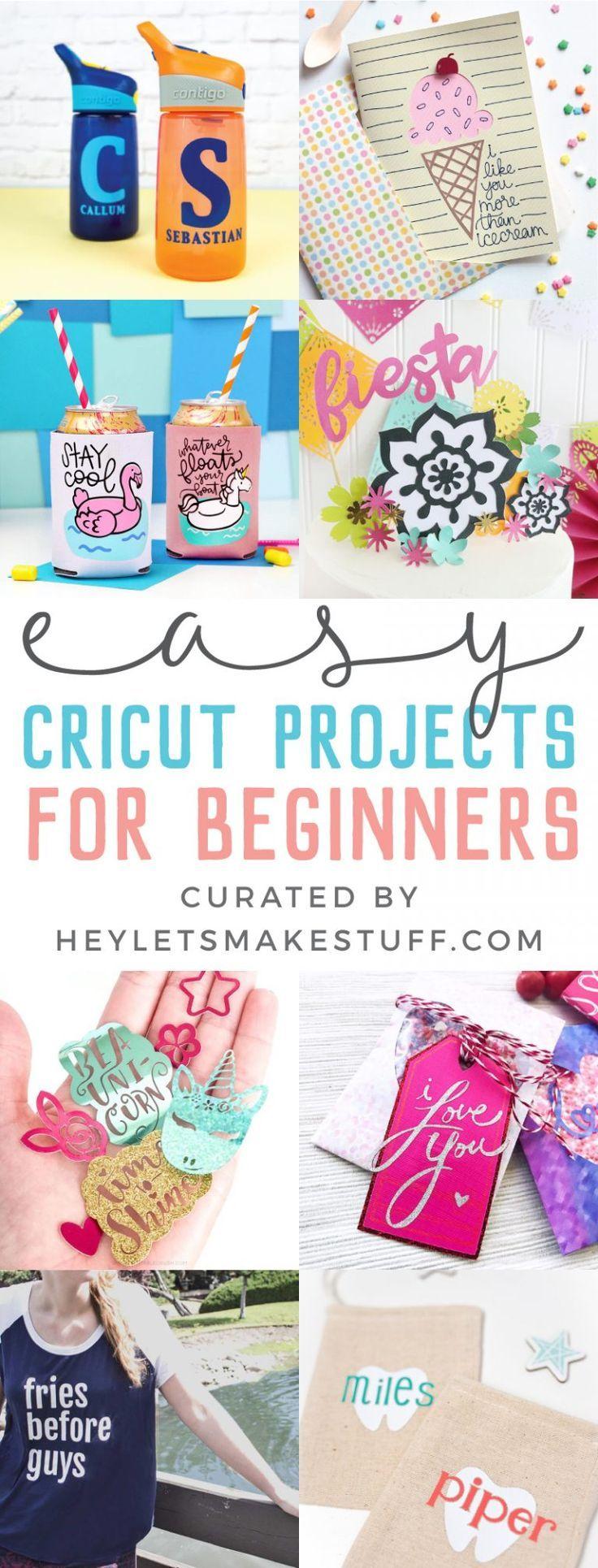 Cricut-Projekte für Anfänger