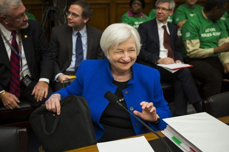 Fed Chair Janet Yellen 39 Probably 39 Ready To Raise Interest Rates In Comi Janet Yellen Interest Rates Fed