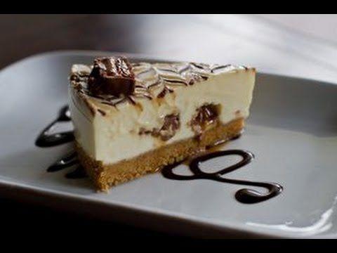 ▶ Cheesecake mars ,senza cottura ,Mars Bar Cheesecake no bake - YouTube