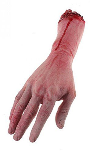 More Care Bloody Lifesize Arm Hand Horror Scary Halloween... https://www.amazon.co.uk/dp/B01K9Y9O62/ref=cm_sw_r_pi_dp_x_eH1hybJ8MBAM8