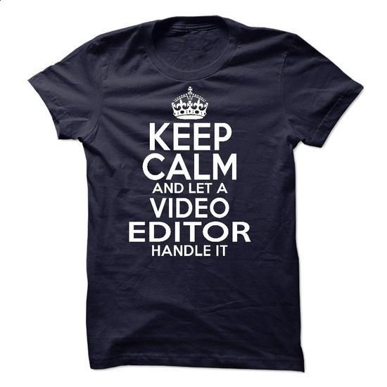 Video Editor #shirt #Tshirt. SIMILAR ITEMS => https://www.sunfrog.com/LifeStyle/Video-Editor-51332913-Guys.html?60505
