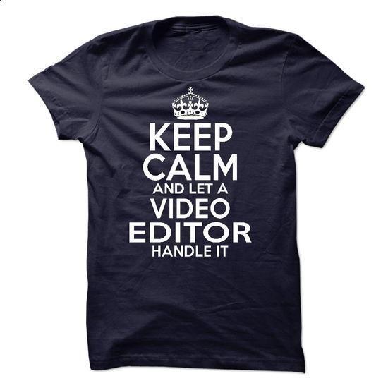 Video Editor #shirt #Tshirt. SIMILAR ITEMS => https://www.sunfrog.com/LifeStyle/Video-Editor-51332913-Guys.html?60505