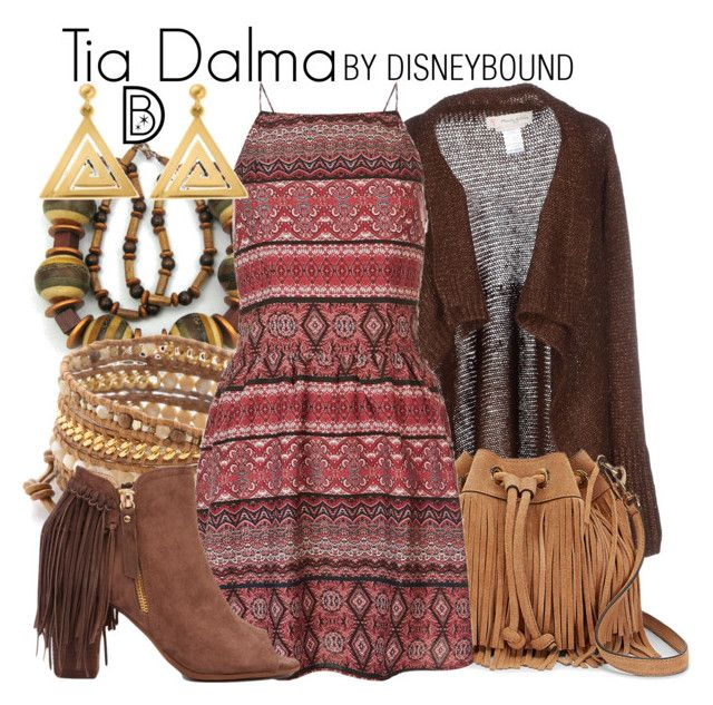 """Tia Dalma"" by leslieakay ❤ liked on Polyvore featuring Chan Luu, Manila Grace, Rebecca Minkoff, Akira, ChloBo, disney, disneybound and disneycharacter"