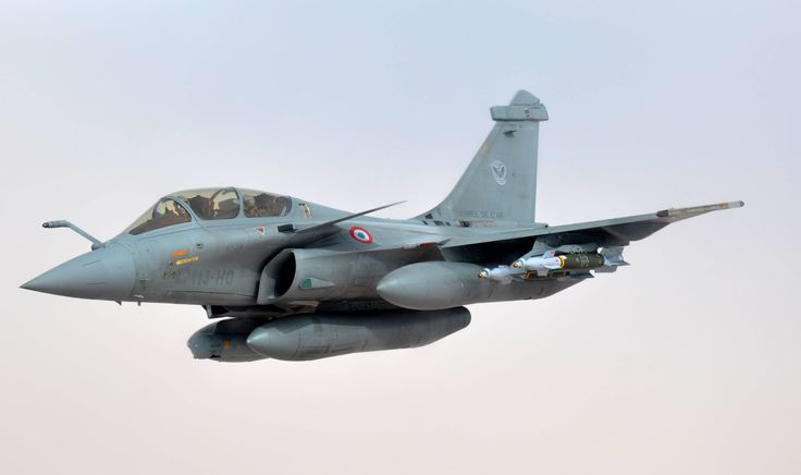 French Air Force Rafale B during Opération Serval, Mali, 2013.