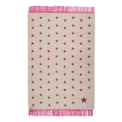tapis étoiles Wildpop Gris / Rose Varanassi Mylittlebazar