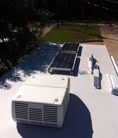 Edward Plumer: Solar Panels on Jayco Travel Trailer
